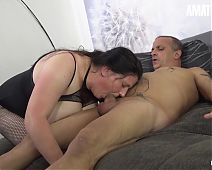 MATURE SWINGERS - BBW Lady Tries Anal With Thick Cock Daddy